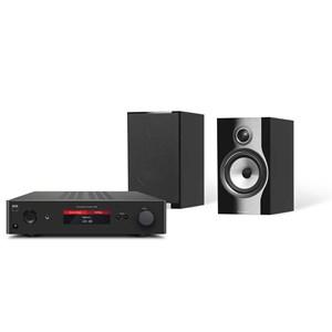 NAD C368 + B&W 706 S2 Musikanläggning med Bluetooth