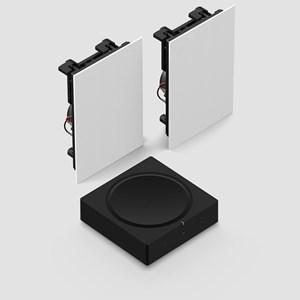 Sonos Amp + In-Wall Innbyggingssystem