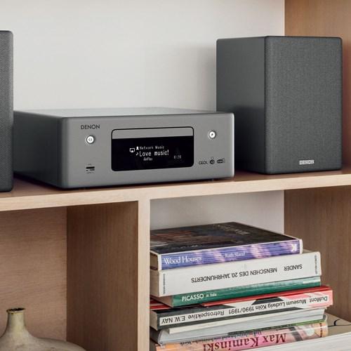 Denon CEOL N11DAB Kompakter Verstärker mit Streaming