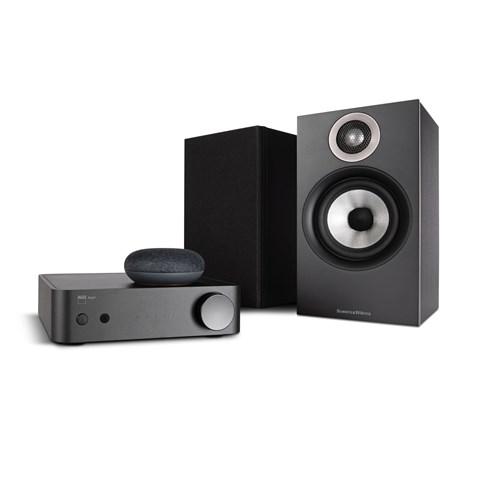 NAD NAD AMP1 + B&W 607 + Google Nest Mini Trådløst musiksystem Trådløst musiksystem