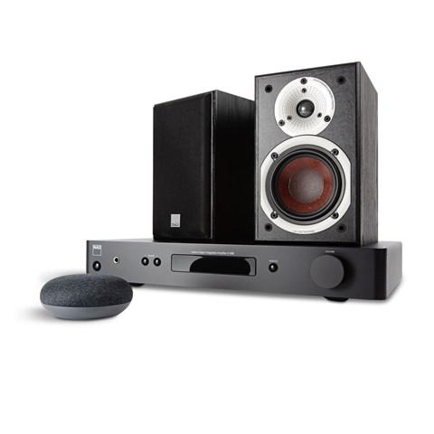 NAD NAD C338 + DALI SPEKTOR 1 + GOOGLE NEST MINI Digital förstärkare med streaming Digital förstärkare med streaming