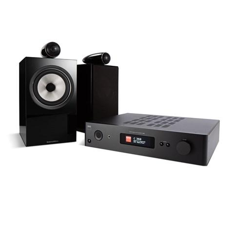 NAD NAD C368 + B&W 705 S2 + MDC BLUOS 2I-MODUL Digitalforstærker med streaming Digitalforstærker med streaming