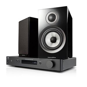 NAD C338 + B&W 707 S2 Digital förstärkare med streaming