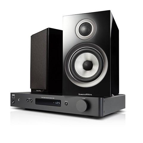 NAD NAD C338 + B&W 707 S2 Digitalforstærker med streaming Digitalforstærker med streaming