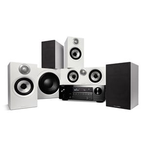 Denon AVR-X2700H + Bowers & Wilkins 607 S2 AE + HTM62 S2 AE + ASW610 M - 5.1 Heimkino-System
