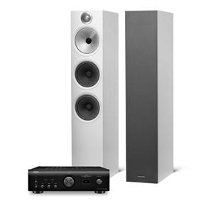 Denon PMA-1600 + B&W 603 Stereoanlegg